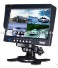 7 Inch TFT LCD Monitor, CCTV Car Monitor