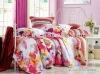 100% Cotton 4pcs/set flowers multicolor bedding sets