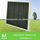 Activated Carbon Panel Filter for air conditioning system