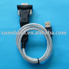 USB 2.0 to RS232 Serial 9 Pin DB9 high speed Adapter cable plug and play installation