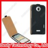 Flip Genuine Leather Case for HTC One X