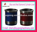 Wet and dry way PHOSPHATED SGS Certification auto engine cylinder liner for isuzu / cummins diesel cylinder liner