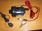 DC 12V electric air pump with battery folder