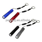 Aluminum Keychain Flashlight with 1 Piece High Brightness LED