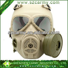 Newest M04 CS Antiflog & Gas Defense Skeletall Safety Protection Mask With Inner Fan
