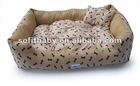 Quality Cotton Low Price Soft Luxury Pet Dog Bed