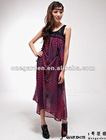 Red Polka Dot Sleeveless Maxi Dress 2012 New Design