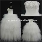 hot sale beautiful hand-made beads new stlye wedding dress 2013