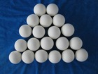 25mm,38mm,50mm,76mm inert ceramic ball for catalyst support for chemical tower