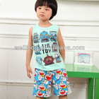 Child clothing supplier boy summer set