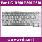 For LG R200 P300 Grey US Laptop / Notebook Keyboard