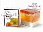100g Natural soap in a color box