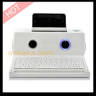 Vintage Style Speaker Dock with Bluetooth Keyboard, USB and TF card Slot