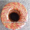 Two cores twisted electrical wire/housing wire
