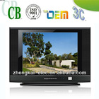 new design of 17inch pure flat crt tv