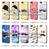 Water transfer printing case for iPhone 5 with sides printed