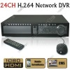 24 Channel CCTV H.264 Security Surveillance DVR with HDMI Ypbpr VGA