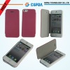Folio pu leather case for iphone 5