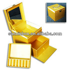 Multi-layer Cosmetic Case with Mirror