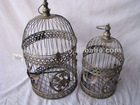 Wrought Iron Bird Cage