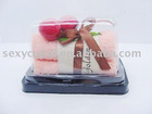 2011 christmas cake gift towel from manufacturer