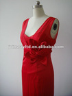 TC201201 sexy Evening Dress Flame red flower
