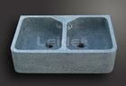 G654 granite double bowl kitchen sink