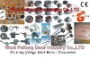 Garage Door Parts --- Hinges, Torsion Springs, Rollers, Cable Drums, Track Kits, Brackets, Emergency Lock, Handle