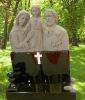 Figure status gravestone designs