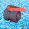 PVC Double Union ball valve (pvc valve)