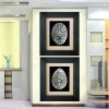 abstract design resin wall painting for home decor