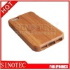 bamboo case for iphone5 with different pattern