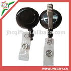 steel retractable cord yoyo id badge reel