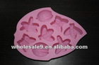 8-Insects Silicone Cake Mold Chocolate Craft Candy Baking mol