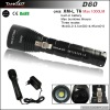 new rechargeable diving flashlight(200 meters diving) TANK007 D60