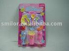 Mini Kitchen Toy Set, Pretend Play Plastic Toy Set