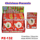Novelty Water Growing Christmas Toys/Christmas Tree/Santa Claus/Snowman