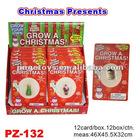 Novelty Water Growing Christmas Toys/Christmas Tree/Santa Claus/Snowman