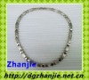 21009 fashion magnetic titanium necklace