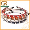 2012 Hair Accessories Elastic Punk Spike Korean Headband hairdband Headwrap 2NE1 DailyLook 020764