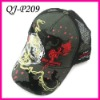 Fashion embroidery&printing mesh hat