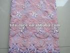 Cotton Embroidery Fashion Lace Fabric