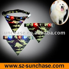 Blinking dog bandana