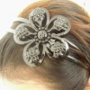 head band with resin diamond