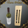 Wooden Wine Box with Holder