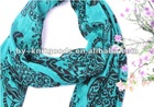 2012 green cotton Scarf