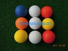 environmental soft PU golf ball