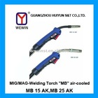 "MIG/MAG-Welding Torch ""MB"" air-cooled (MB 15 AK,MB 25 AK)"