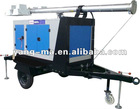 water cooling diesel movable generator mobile light tower