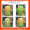 Robot Mini sound box with TF,USB,Microjack,LED light